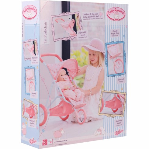 BABY ANNABELL TRI PUSH CHAIR