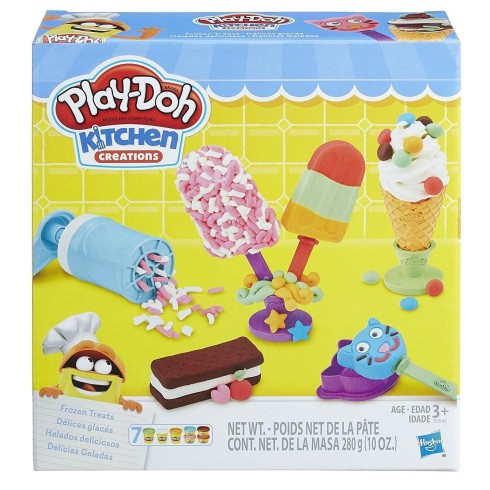 PLAY DOH FROZEN TREATS