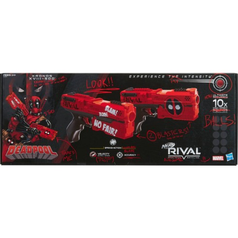 NERF RIVAL DEADPOOL
