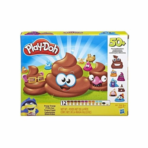 PLAY DOH POOP TROOP