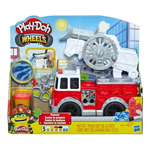 PLAY DOH FIRE TRUCK