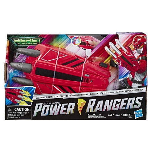 POWER RANGERS ELECTRONIC CHEETAH CLAW