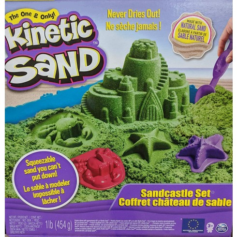 KINETIC SAND SANDCASTLE SET