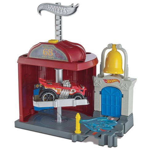 HOT WHEELS DOWNTOWN FIRE STATION