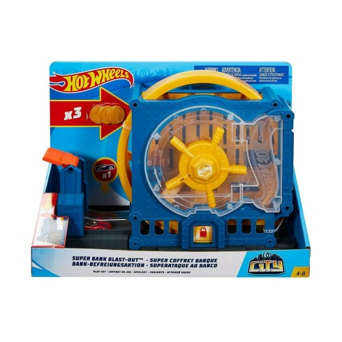 HOT WHEELS SUPER BANK BLAST