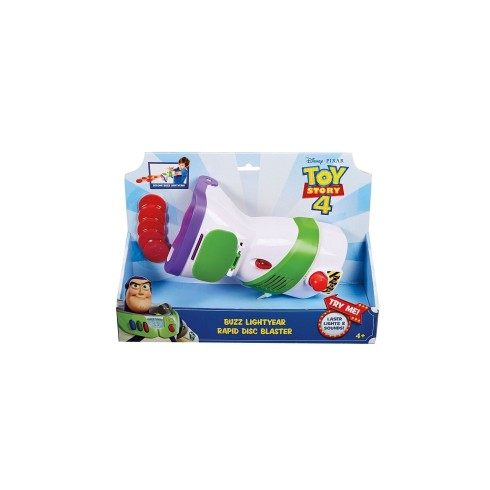 TOY STORY 4 BUZZ LIGHT YEAR RAPID DISC BLASTER