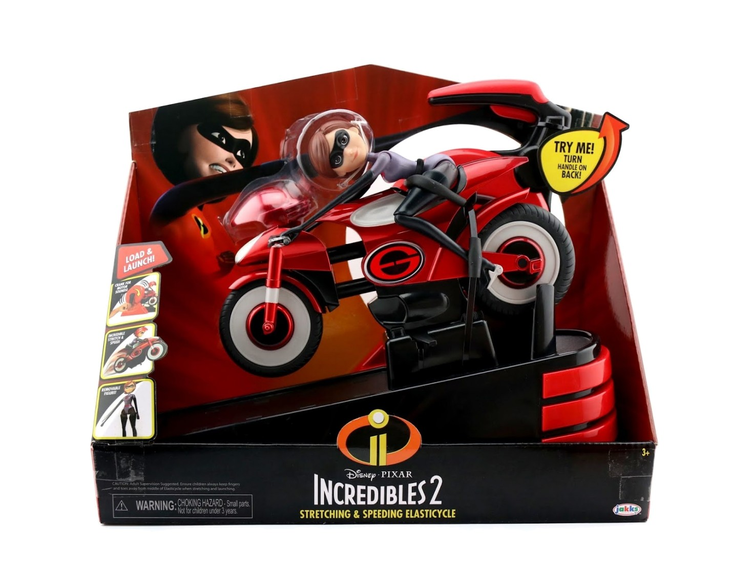 INCREDIBLES 2 STRETCHING & SPEEDING ELASTICYCLE