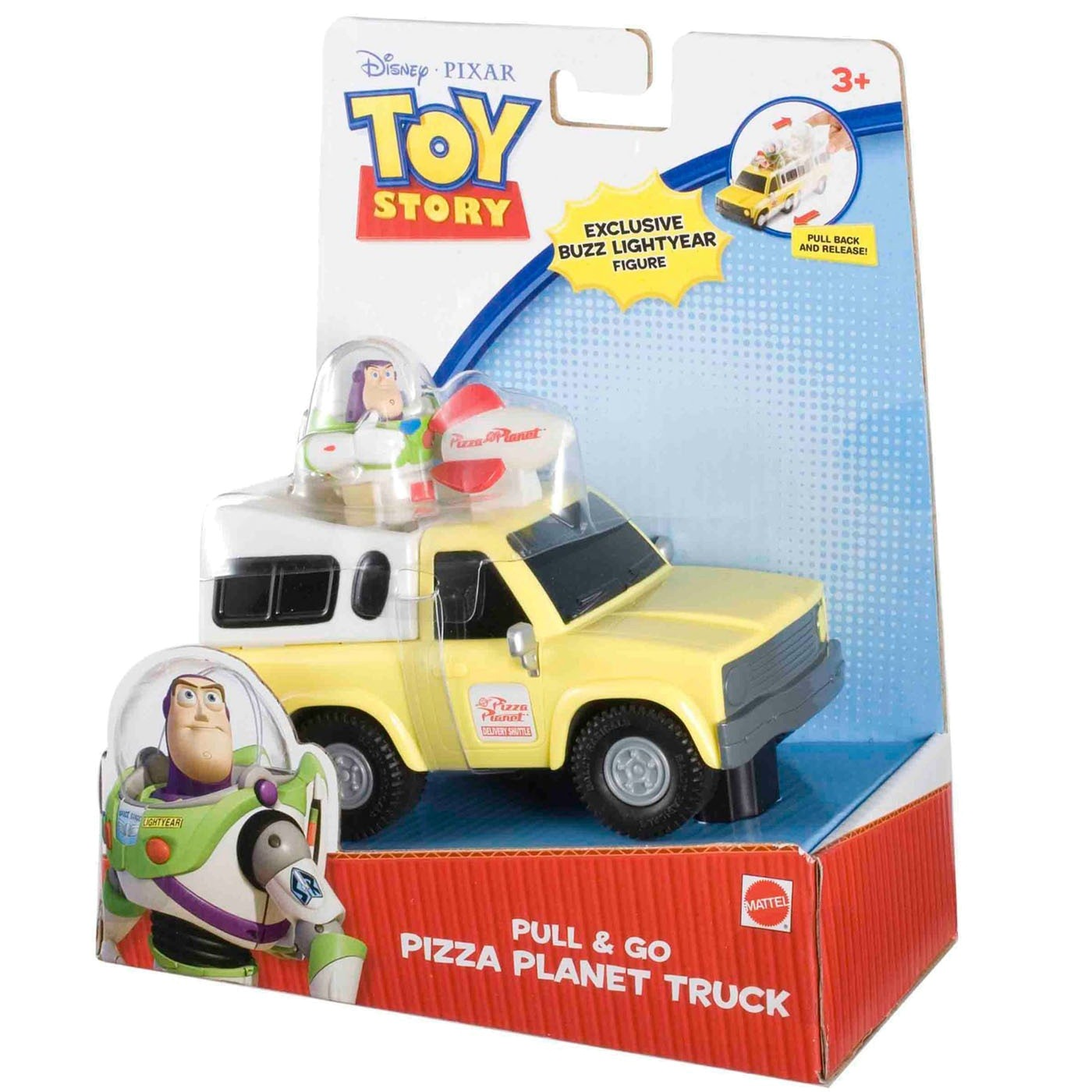 PULL N  GO PIZZA PLANET TRUCK