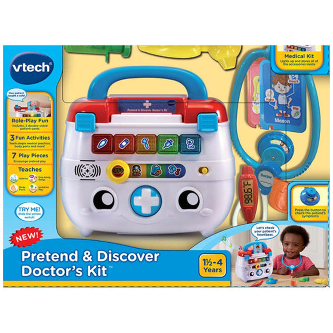 PRETEND & LEARN DOCTORS KIT