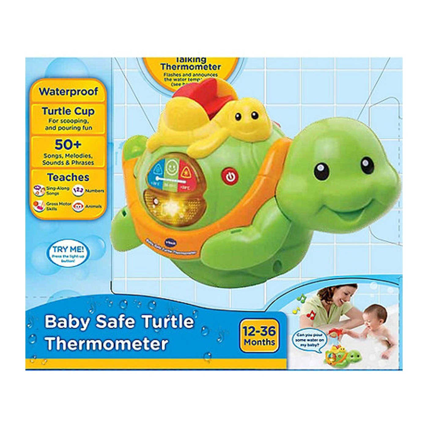 BABY SAFE TURTLE THERMOMETER