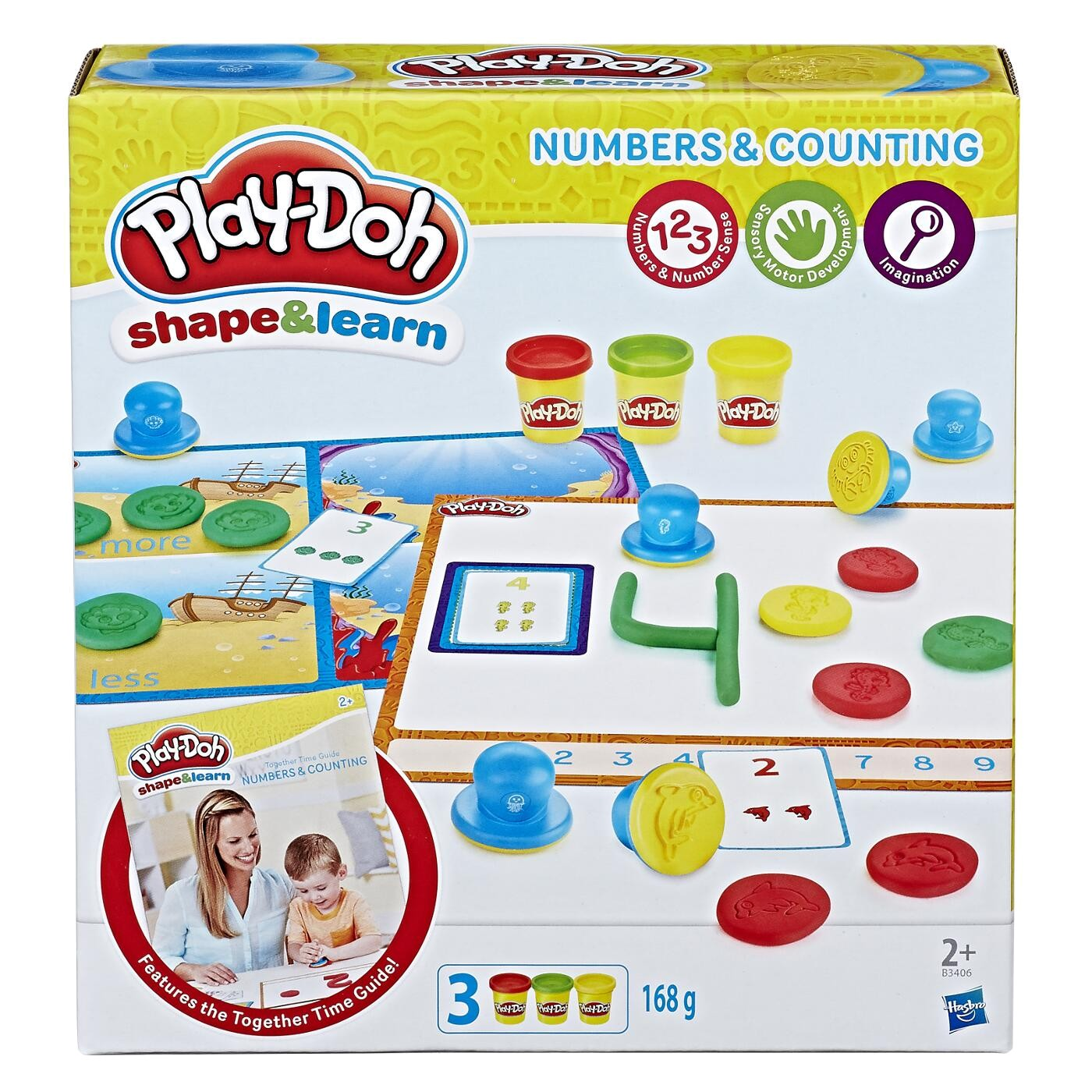 PLAY DOH NUMBER & COUNTING