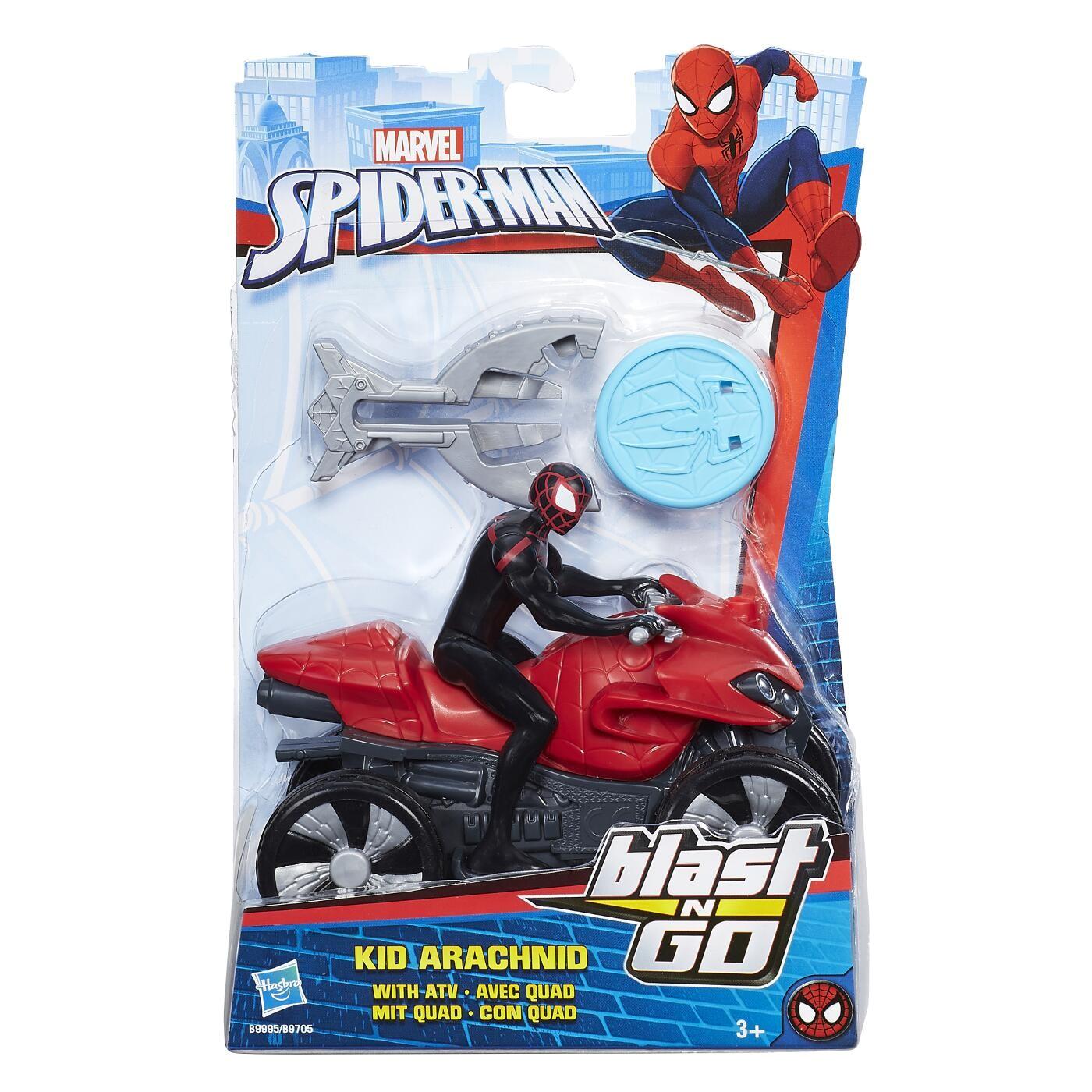 SPIDERMAN BLAST N GO