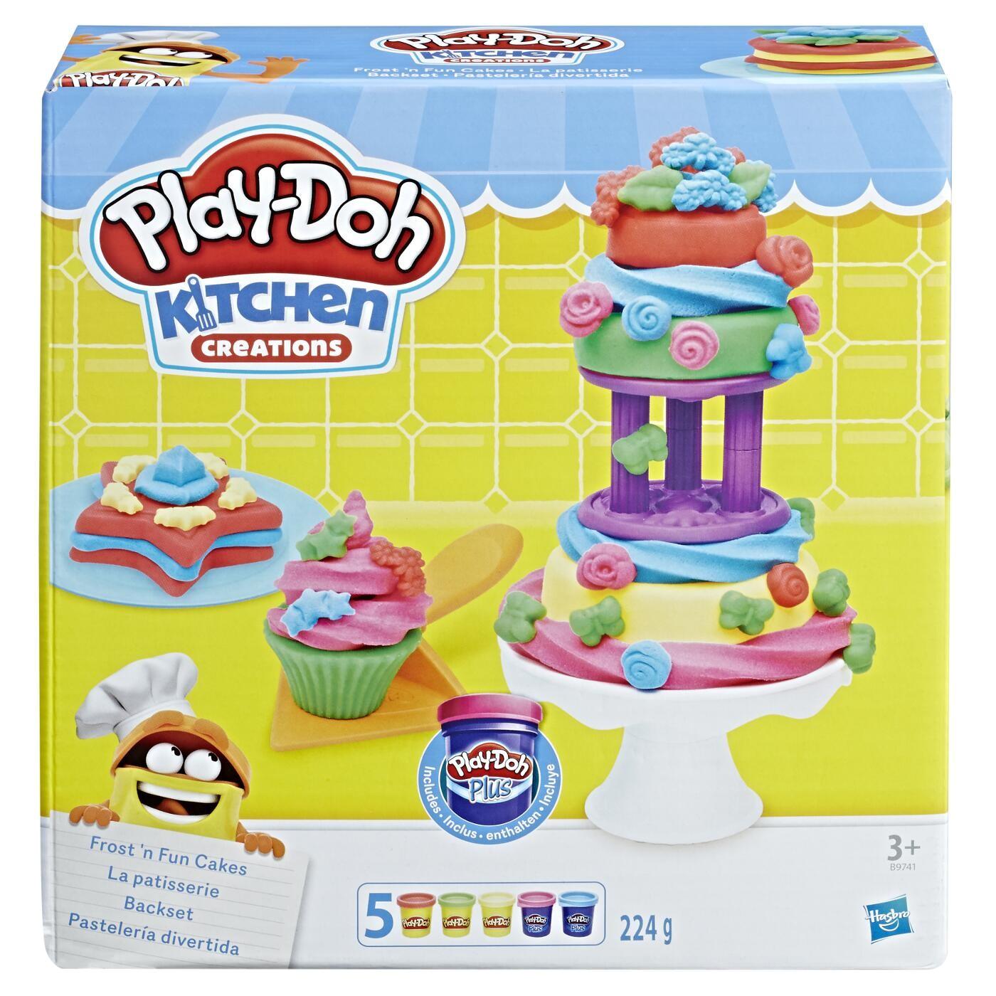 PLAY DOH FROST N FUN CAKE