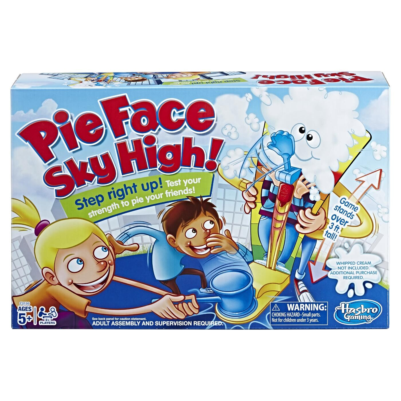 PIE FACE SKY HIGH