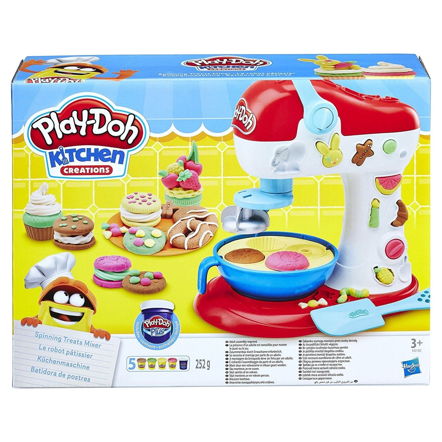 PLAY DOH SPINNING TREAT MIXER