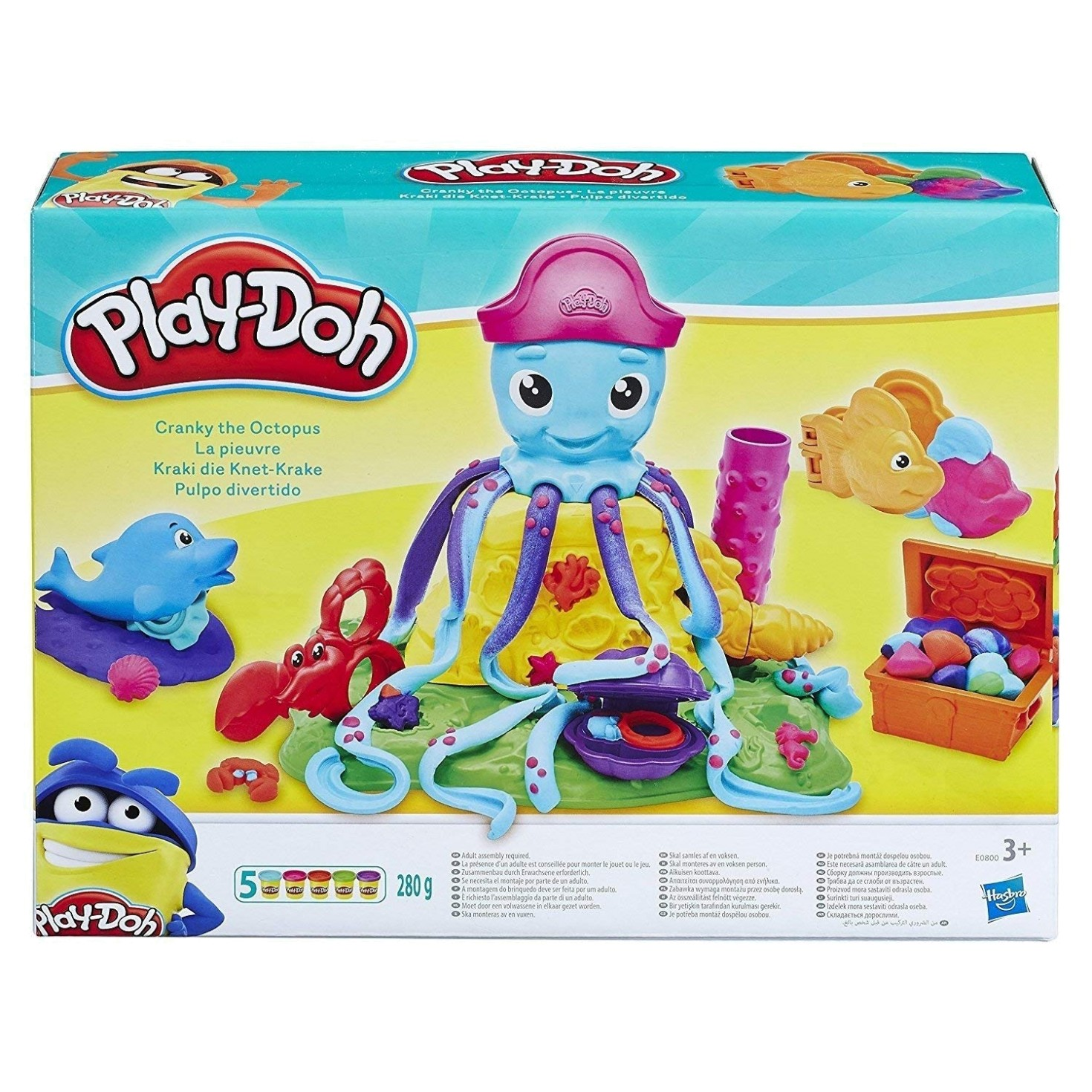 PLAY DOH CRANKY THE OCTUPUS