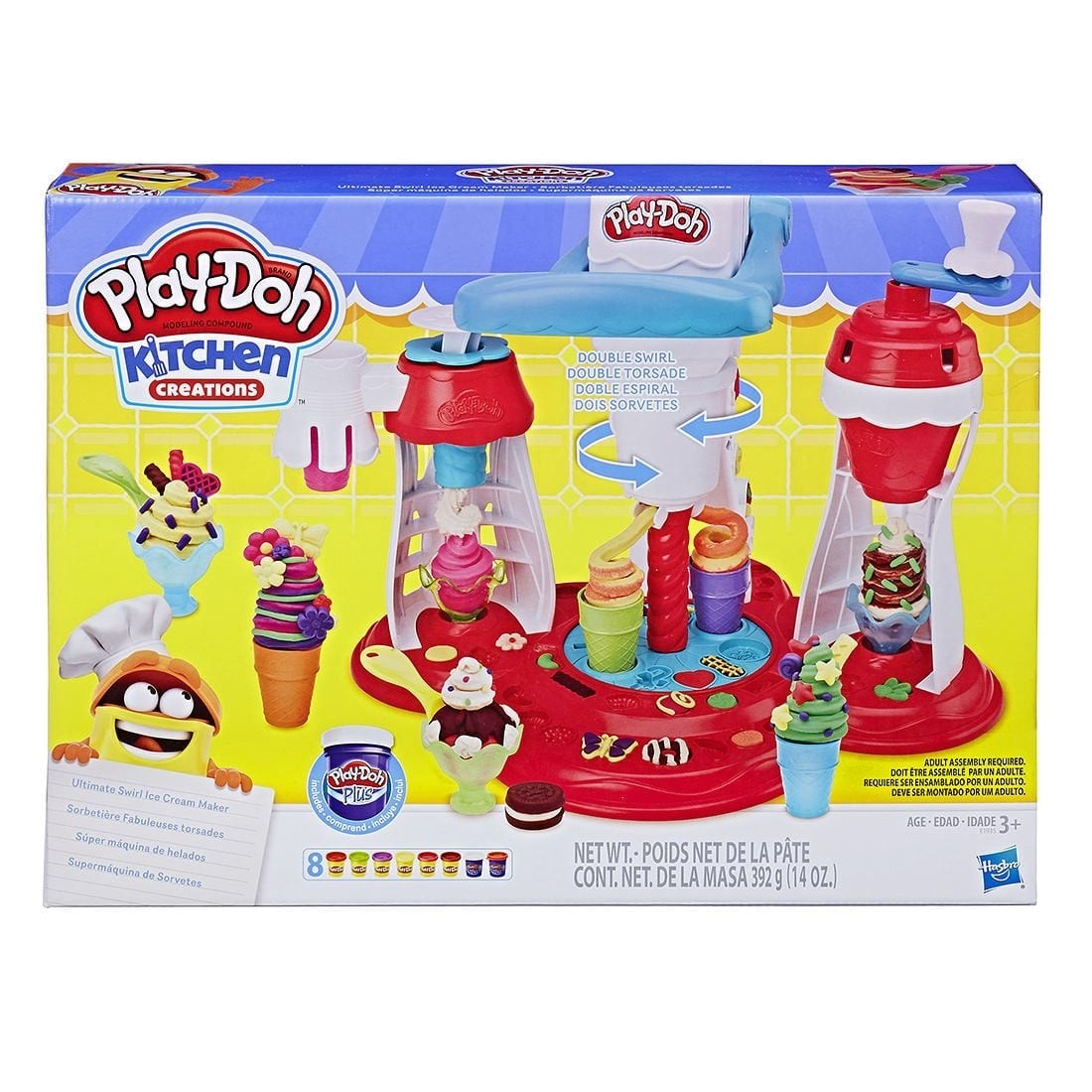 PLAY DOH ULTIMATE SWIRL ICE CREAM MAKER