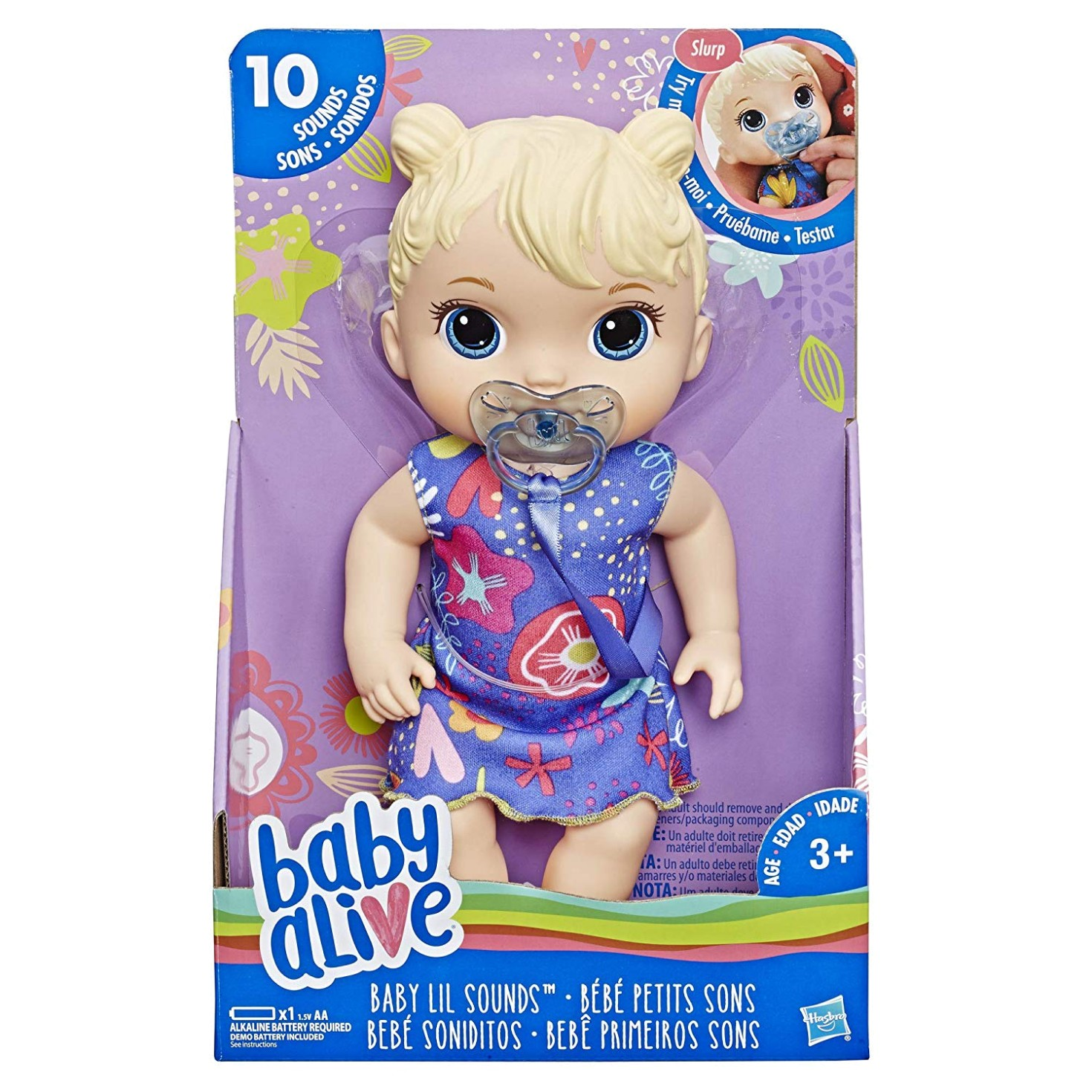 BABY ALIVE BABY LIL SOUNDS