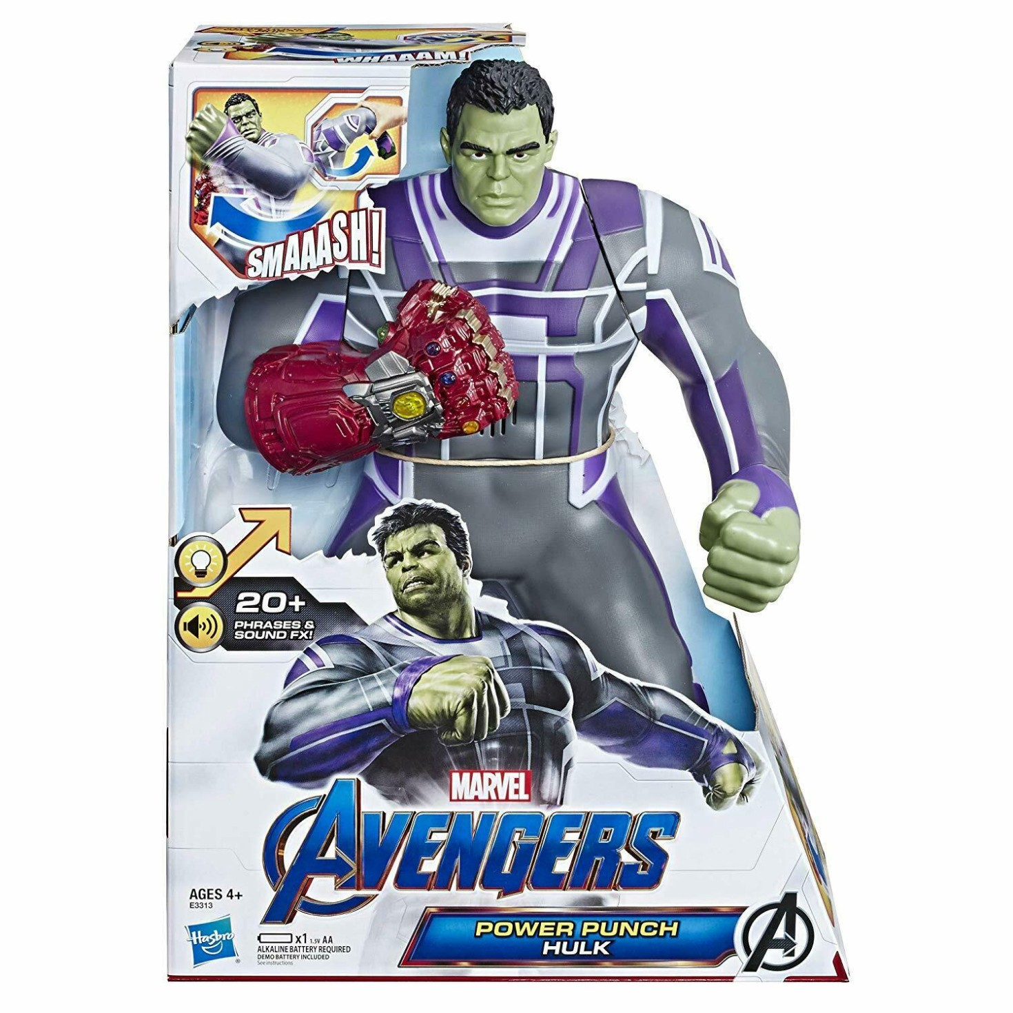 AVENGERS HULK POWER PUNCH