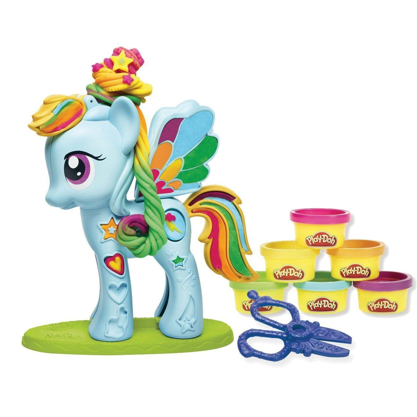 PLAY DOH RAINBOW DASH