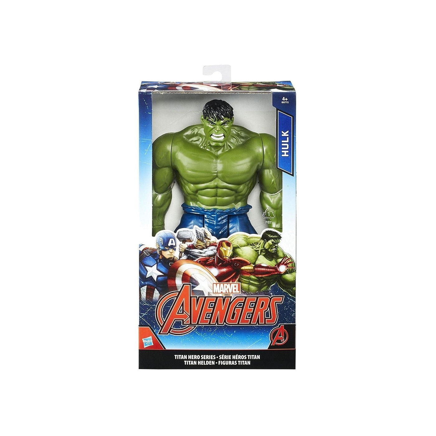 AVENGERS 12'' TITAN HERO HULK FIGURE
