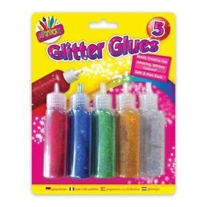 5 GLITTER GLUES