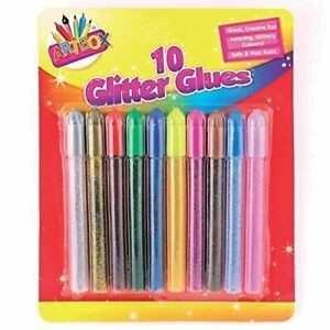 10 GLITTER GLUES