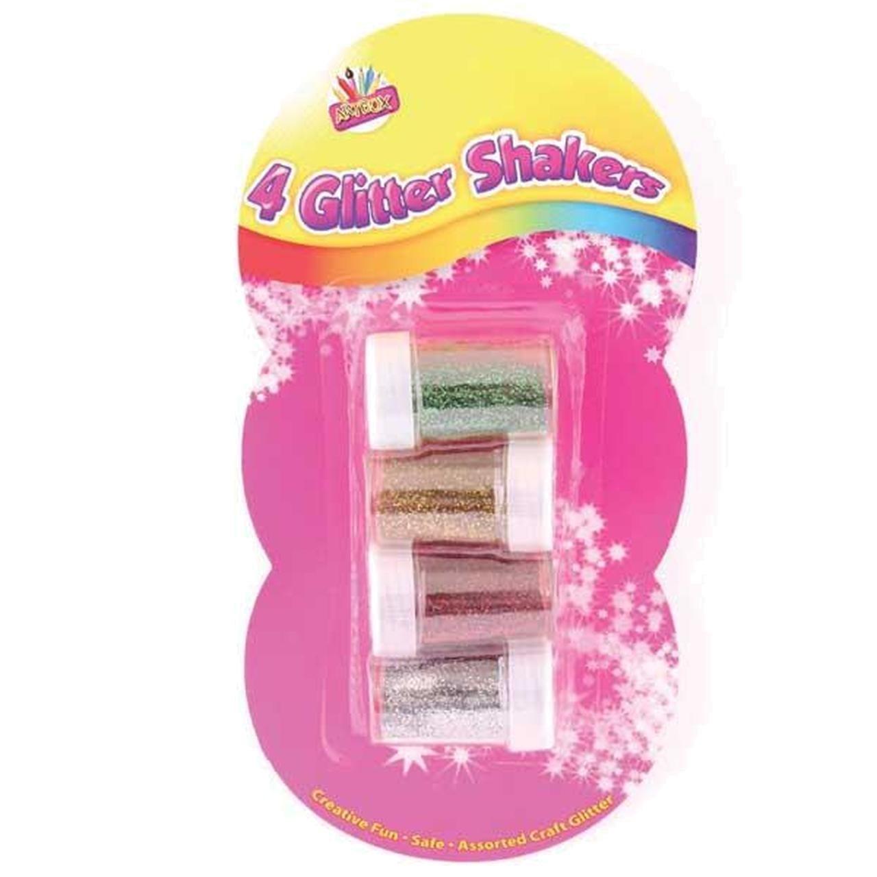 4 GLITTER SHAKERS
