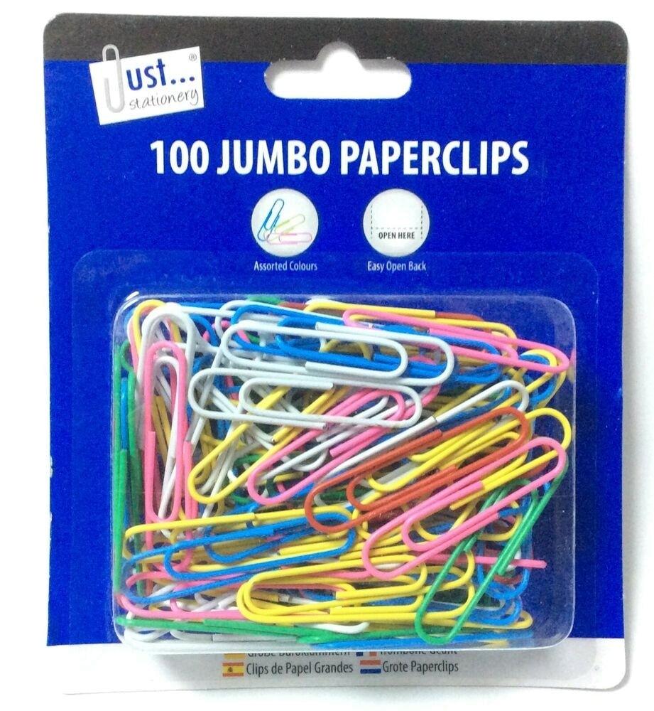 100 JUMBO PAPER CLIP
