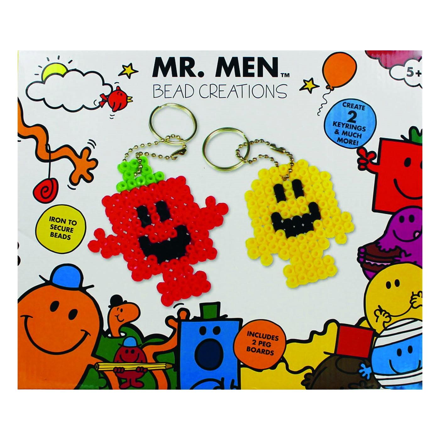 Mr MEN BEAD CREATION