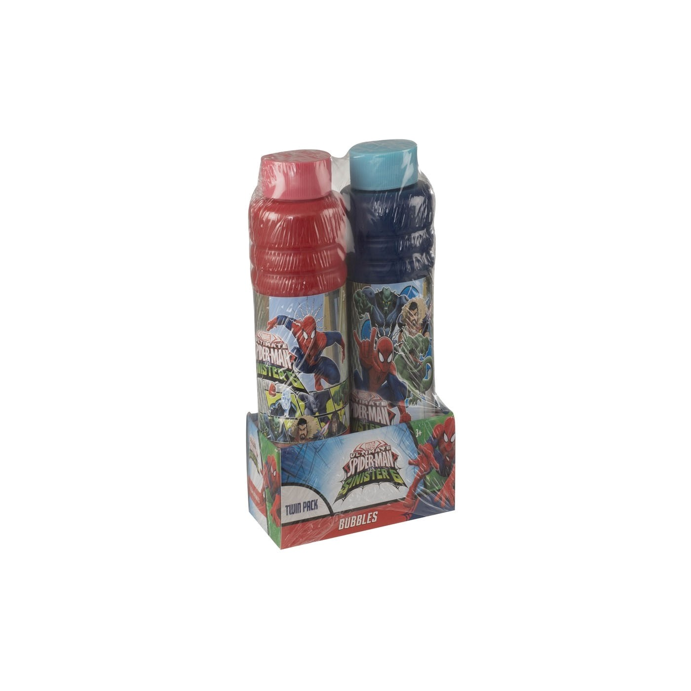SPIDER-MAN BUBBLE TWIN PACK