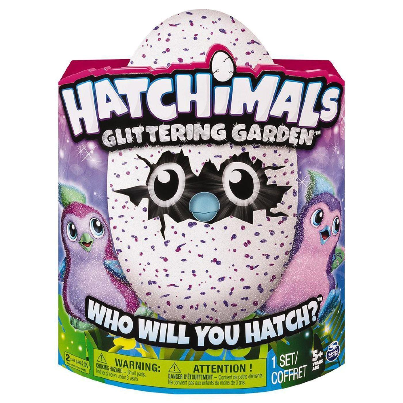 HATCHIMALS GLITTERING-GARDEN
