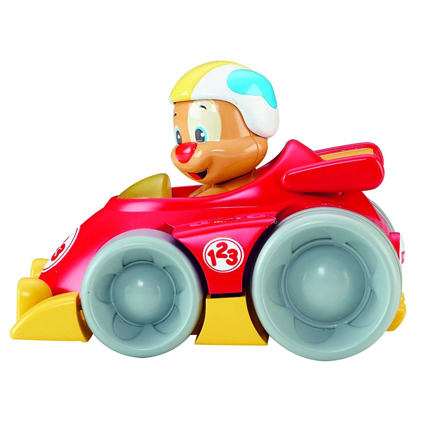 PUPPY PRESS N GO CAR