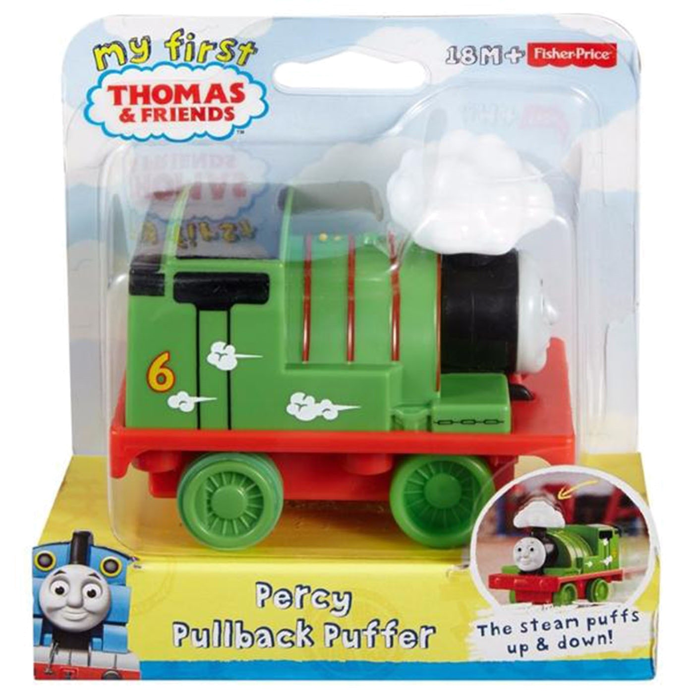 PULL BACK PUFFER ENGINES PERCY