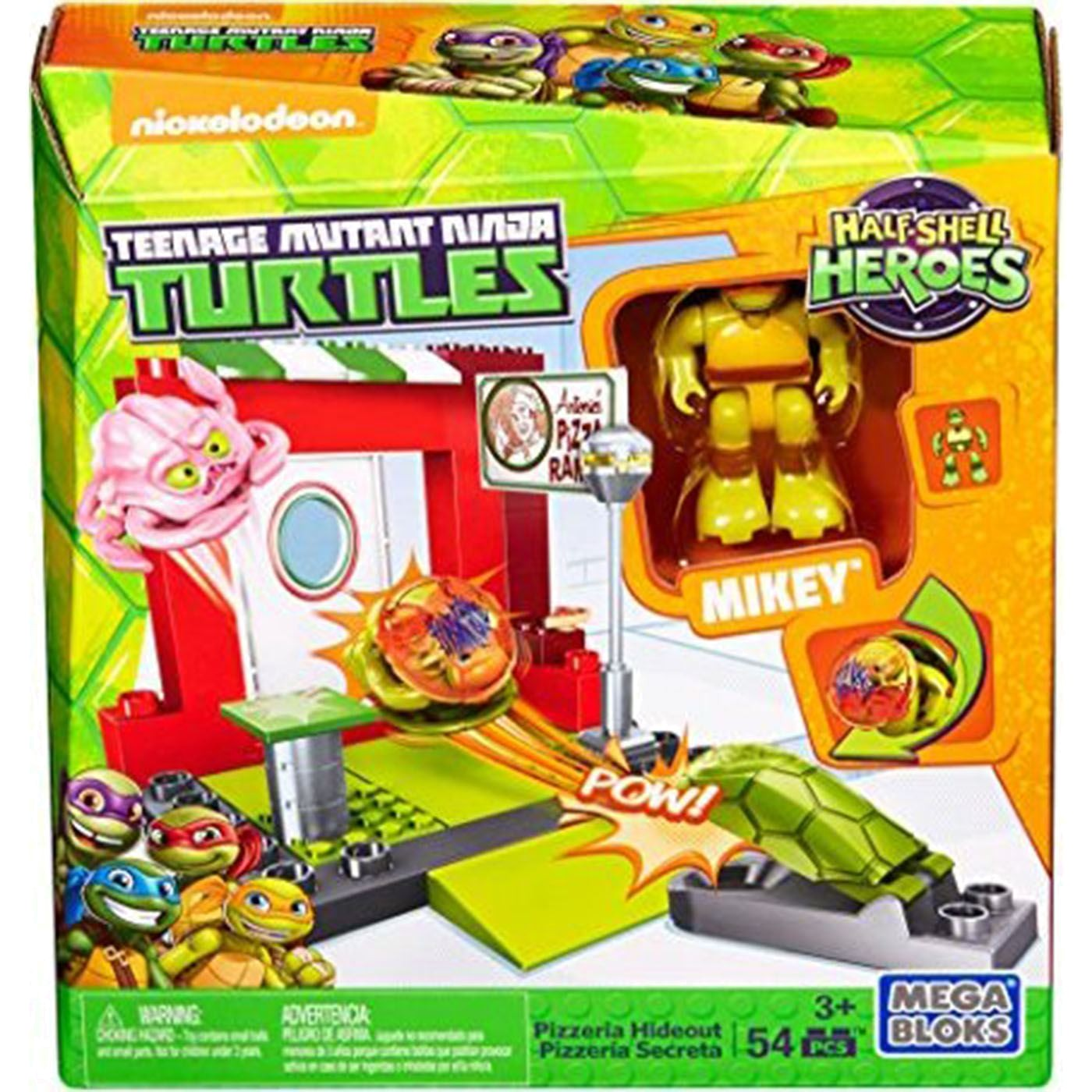 TMNT-NY CITY STREETS MIKEY PIZZERIA HIDE OUT