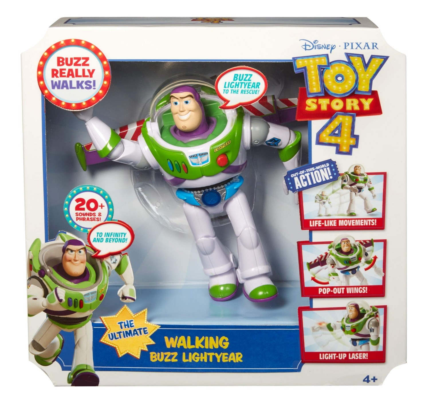 TOY STORY 4ULTIMATE WALKING BUZZ