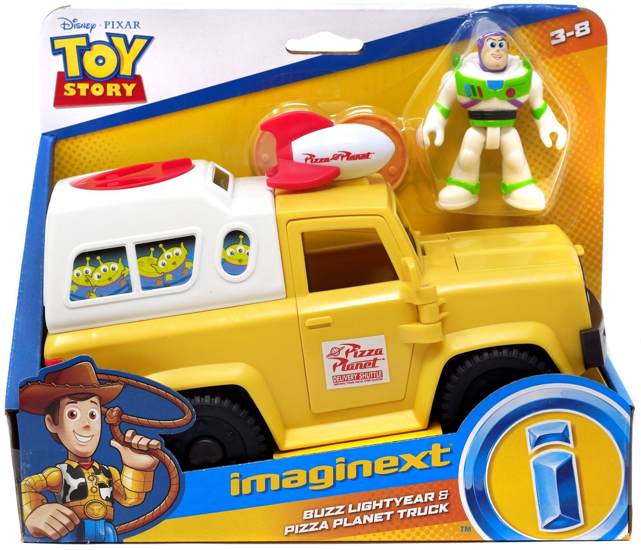 TOY STORY 4 PIZZA PLANET TRUCK