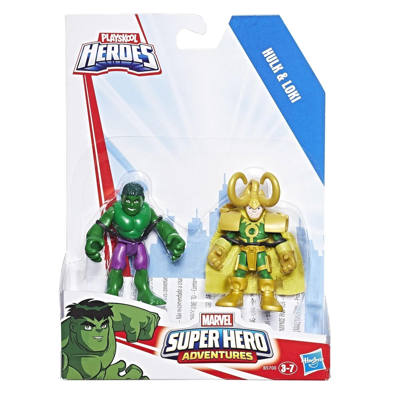 SUPER HERO AVENGERS FIGURE 2 PACK