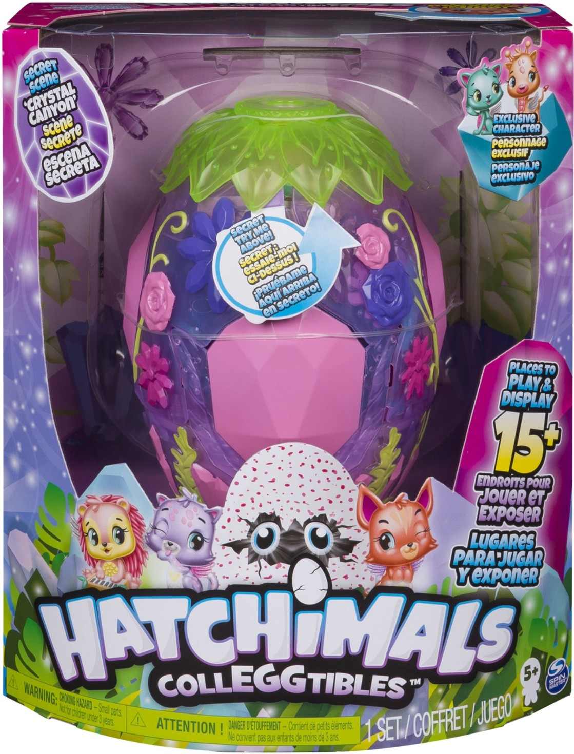 HATCHIMALS CRYSTAL CANYON