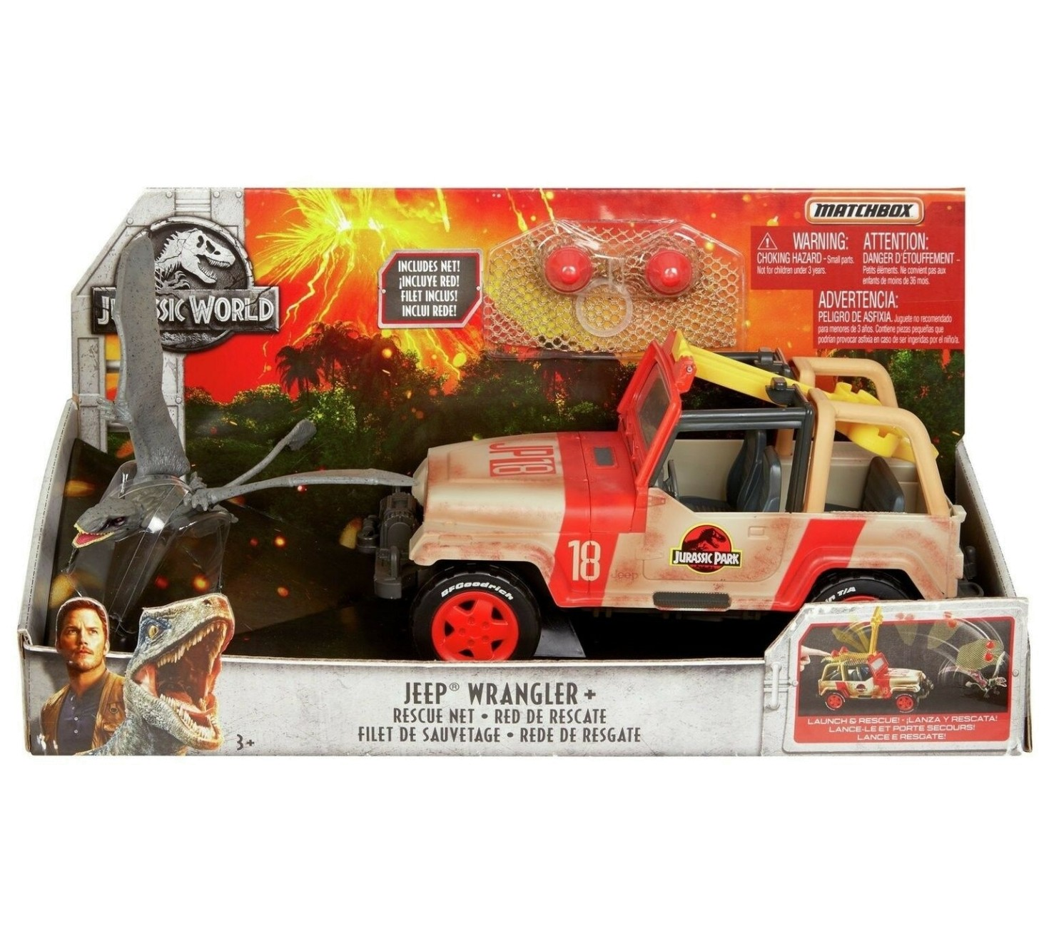 JURASSIC WORLD JEEP WRANGLER