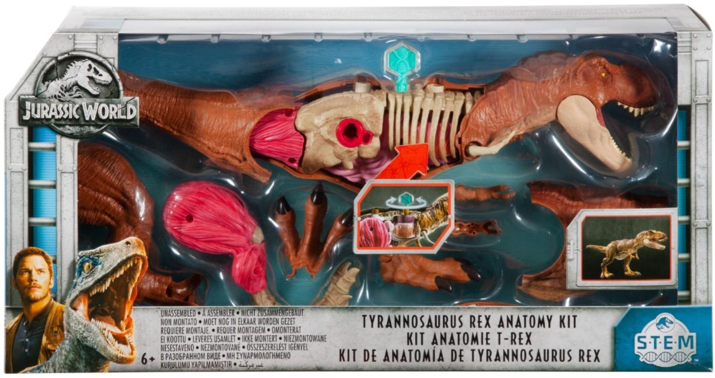 JURASSIC WORLD TYRANNOSAURUS REX ANATOMY KIT