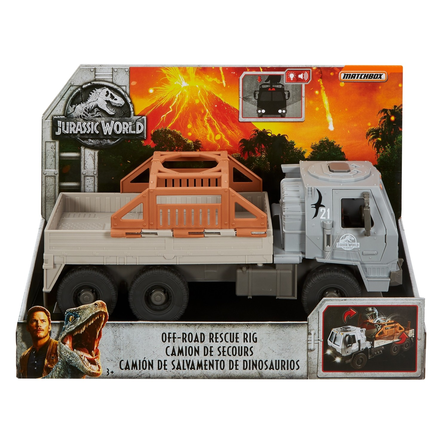 JURASSIC WORLD OFF-ROAD RESCUE RIG