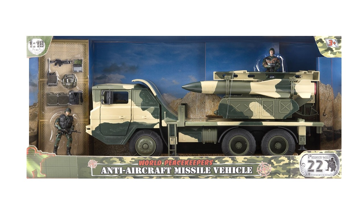 WORLD PEACEKEEPERS ANTI-AIRCRAFT MISSILE VEHICLE