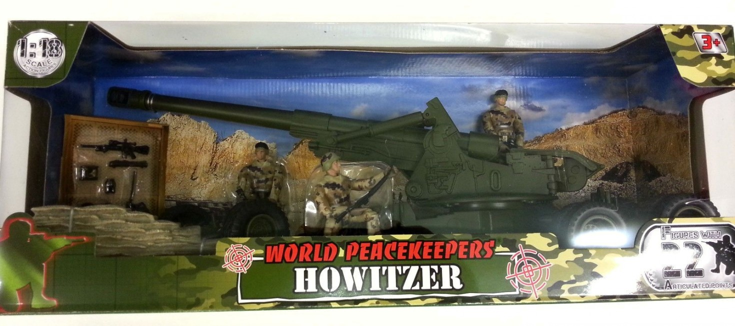 WORLD PEACEKEEPERS HOWITZER